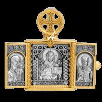 «Господь Вседержитель. Казанская икона Божией Матери. Свт. Николай Чудотворец»